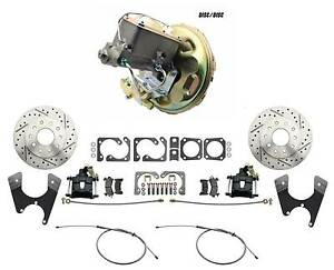 1970 1974 Camaro Rear Disc Brake Conversion Power Brake Disc Disc Master Kit