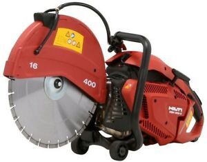 Hilti Dsh 900x 90cc 16 In Hand Held Gas Saw With Blades