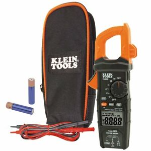 Klein Cl600 Ac Auto ranging 600 Amp Auto Range True Mean Digital Clamp Meter
