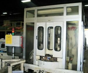 Sunnen Mhs 802 Vertical Cnc Honing grinding W rotary Indexing Production Table
