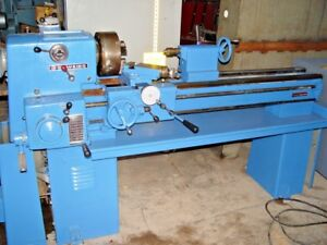15 Clausing W 60 Between Centers Variable Speed Engine Lathe Hardened Ways