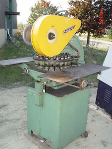 18x Station Diacro Model 18 bf Powered Rotary Turret Punch On Stand