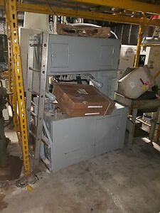 36 Grob Vertical Band Saw Mdl ns 36 W Blade Welder