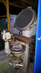 Jones And Lamson Comparator And Parts Measuring Machine