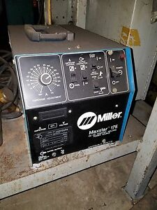 Miller Maxstar 175 Cc Dc Inverter Welding Power Source