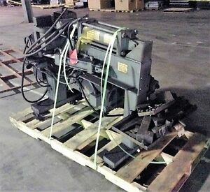 Huth Horizontal Hydraulic Tubing exhaust Bender Model 2007