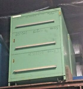 Stanley Vidmar 3 drawer Tooling Cabinet 30 X 27 5 X 44