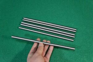 10mm Dia Titanium 6al 4v Round Bar 393 X 10 Ti Grade 5 Rod Solid Metal 6pcs