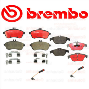 Brembo Front Rear Disc Brake Pad Kit For Mercedes C250 12 15 C300 08 12
