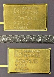 Ic through Hole Analog Devices Ad676kd Lot Of 2