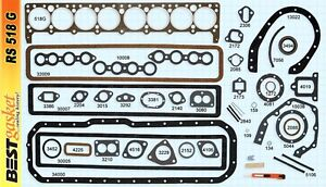 1934 1950 Buick Straight 8 Engine Full Gasket Set Best Free Shipping
