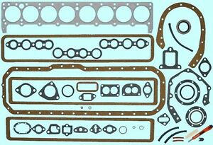 1950 1953 Buick Straight 8 Engine Full Gasket Set Best Free Shipping