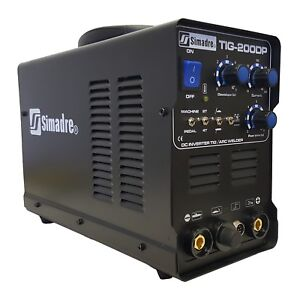 Tig Mma Pulse 200a Welder Simadre Tig200dp 110 220v Dc Inverter Welding Machine