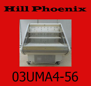 Hill Phoenix Commercial Refrigerated freezer Reach in Display Case M 02 5uma4