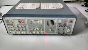 Rohde Schwarz Emft 838 6010 53 Tv Test Receiver Powers On As Is
