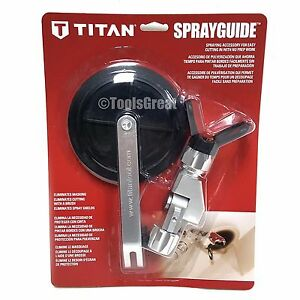 Genuine Titan Cutting Shield Spray Guide 0538900 0538701 Sprayguide Adapter