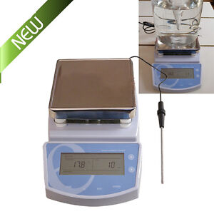 Heating Hot Plate Magnetic Stirrer Hotplate Mixer Heater For Laboratory 300 Fda