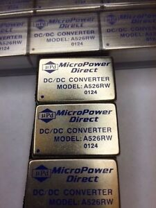 Micro Power Direct A526rw Dc dc Converter Lot Of 34