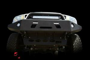 Dv8 Offroad Fbtt1 01 Front Bumper For 2005 2015 Toyota Tacoma