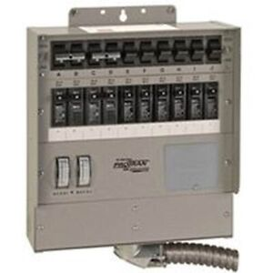 10 Circ Gen Ac Transfer Switch Pack 2 Part 510f6 Reliance Controls Corp