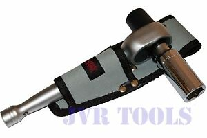 1 2 Scaffold Ratchet With 7 8 6 point Deep Well Socket W Tool Pouch Holder