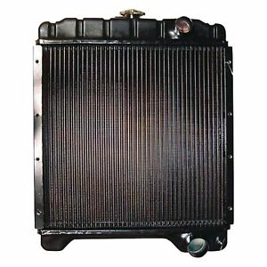 A172038 Radiator For Case Backhoe 580 580k Series I Ii Iii Super K