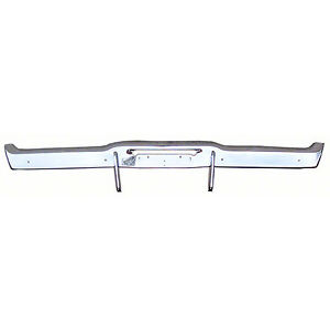 Bumper Rear Chrome 68 70 Charger With Bumperettes