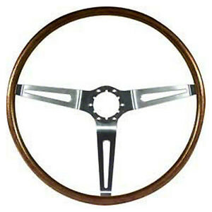 Woodgrain Steering Wheel 67 68 All Chevy Cars walnut Also 68 Olds Gm A body