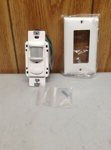 Sensor Switch Wsd pdt w Motion Detector Switch