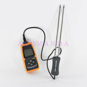 Grain Moisture Meter Tester Temperature Measure Md7822 2 30 Wheat Corn Rice