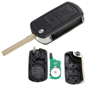 3 Buttons 315mhz Flip Folding Remote Entry Key Fob For Land Rover Range Rover