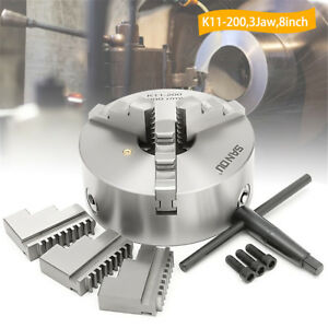 K12 100 4 Jaw Lathe Chuck Self centering Hardened Metal Drilling Milling 100mm