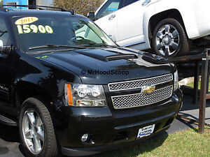 2007 2013 Hood Scoop For Chevrolet Avalanche By Mrhoodscoop Painted Hs009