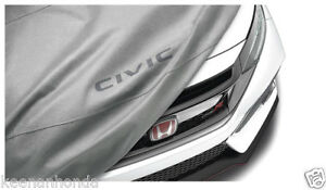 Genuine Oem Honda Civic Hatchback Type R Car Cover 17 19 5dr Hatch Back Tgg
