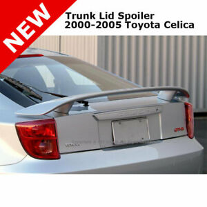 For Toyota Celica 00 05 Trunk Rear Spoiler Color Match Painted Black 202
