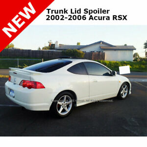 For Acura Rsx Coupe 02 06 Trunk Rear Spoiler Color Matched Painted White Nh578