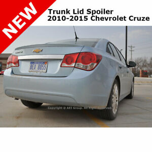 Chevy Cruze 11 Trunk Rear Spoiler Color Matched Painted Summit White Wa8624