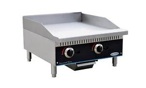 Servware Smg 24 24 Manual Gas Griddle Brand New In Box