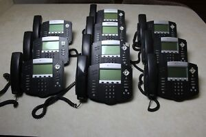 Lot Of 10 Polycom Soundpoint Ip550 Sip Voip Phones