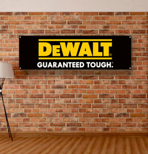 Dewalt Tools Vinyl Banner Sign Garage Workshop Logo Flag Poster Free Shipping