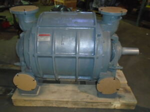 Nash Vacuum Pump Liquid Ring Vacuum Pump Cl 2002 Fc 100 Rebuilt With Warranty