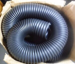 25 Ft Thermoplastic Rubber Industrial Ducting Hose With 5 5 Bend black mg