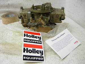 Nos 4781 8 Holley Carburetor 850 Cfm Double Pumper 4bbl Carb Chevy Ford Mopar