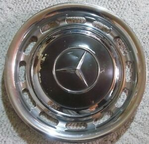 Mercedes Benz Dog Dish Hubcap Beauty Ring Wheel Cover 9 1 2 Inch Center Cap