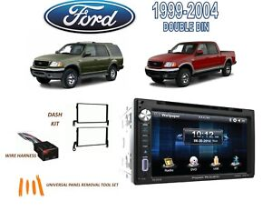 1999 2004 Ford F 150 1999 2002 Expedition Stereo Kit Bluetooth Touchscreen Dvd