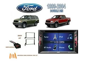 1999 2002 Expedition 1999 2004 Ford F 150 Stereo Kit Touchscreen Dvd Bluetooth