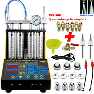 Autool Ct150 Car Gasoline Fuel System Injector Injection Cleaner Tester Us Plug