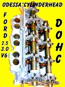 Ford Lincoln Mercury 3 0 Dohc Cylinder Head rf f7de Only Right 96 02 Reman