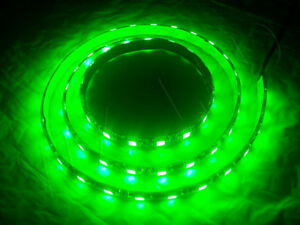 1 Meter Green 60 Led Black Pcb Flexible Waterproof 5050 Smd Led Strip