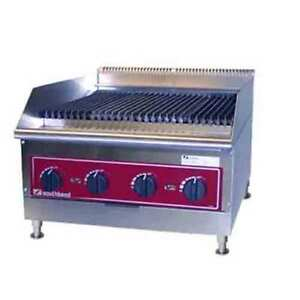 Southbend Hdc 24 Char broiler 24 Wide X 22 Front To Back Countertop Radiant